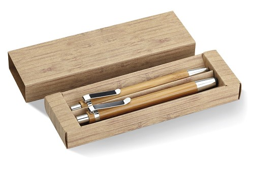 Bamboe touchpen set